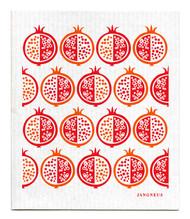 Swedish Dishcloth - Pomegranate - Red