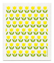 Swedish Dishcloth - Tulip Small - Yellow