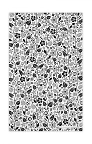 Swedish Kitchen Towels - Garden - Black