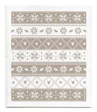 Swedish Dishcloth - Knitted - Grey