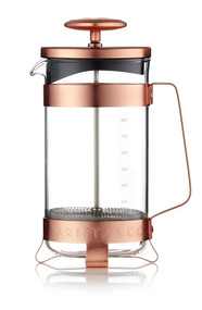 Contemporary eight cups plunge pot Electric Copper from Barista & Co
