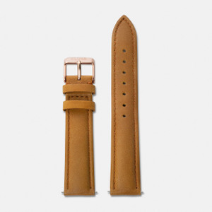 Cluse La Boheme Watch Strap Caramel/Rose Gold