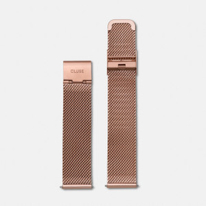 Cluse La Boheme Watch Strap Mesh Rose Gold