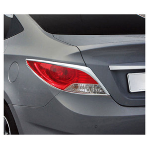 Premium FX | Front and Rear Light Bezels and Trim | 12-13 Hyundai Accent | PFXT0110