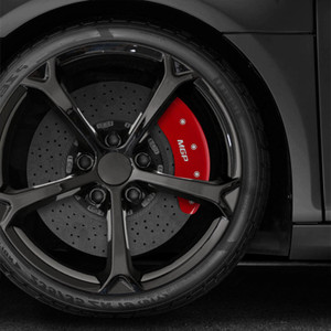 Front and Rear MGP Caliper Covers for 2000-2006 Audi TT Quattro 1.8L