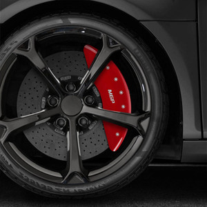 Bolt-on Rear MGP Caliper Covers for 2013-2016 Land Rover Range Rover