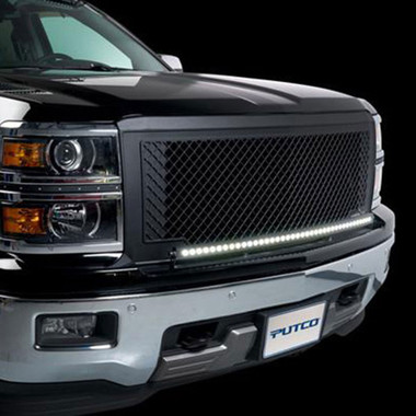 Putco wiring and electrical systems 14 15 chevrolet silverado putco 40 curved led light bar bracket kit for 2014 2015 chevy silverado ld aloadofball Image collections