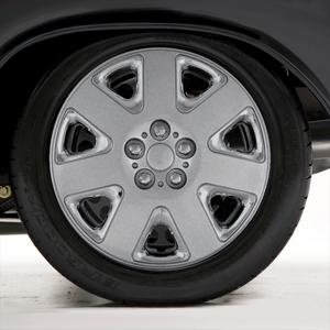 "Set of Four 15"" Chrome Wheel Covers for 01-03 Dodge Stratus (Standard Retention)"