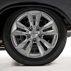 "Set of Four 16"" Chrome Hubcap Wheel Covers for 2011-14 Hyundai Sonata (Bolt-on)"