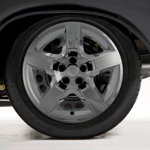 "Set of Four 17"" Chrome Hubcap Wheel Covers for 2007-2010 Pontiac G6 (Screw-on)"
