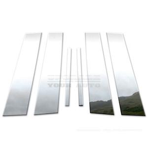 Brite Chrome   Pillar Post Covers and Trim   10-15 Buick Lacrosse   BCIP068