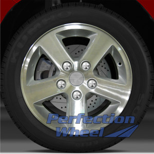2008-2013 Dodge Caravan 16x6.5 Factory Wheel (Bright Sparkle Silver Machined)