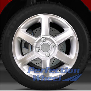 1998-2002 Mercury Cougar 16x6.5 Factory Wheel (Sparkle Silver)