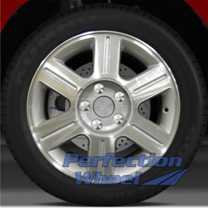 2004-2007 Mercury Monterey 16x7 Factory Wheel (6 Spoke Sparkle Silver Machined)