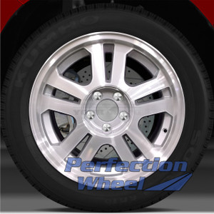 2005-2009 Ford Mustang 17x8 Factory Wheel (Medium Sparkle Silver)