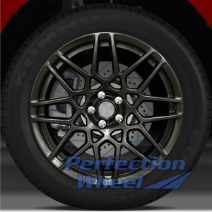 2013-2014 Ford Mustang 19x9.5 Factory Front Wheel (Hyper Dark Smoked Silver)
