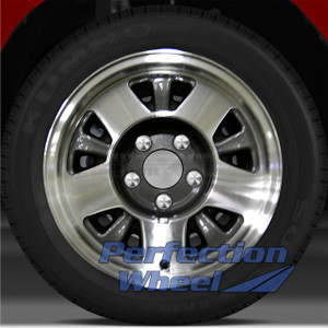 1992-1998 GMC Sierra 1500 4x2 15x7 Factory Wheel (Medium Metallic Charcoal)