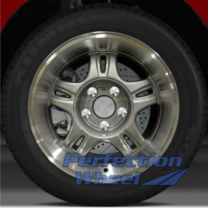 1999-2003 Chevy S10 4x2 16x8 Factory Wheel (Sparkle Silver)
