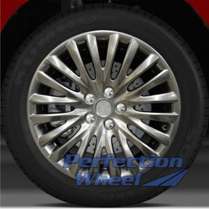 2010-2012 Suzuki Kizashi 18x8 Factory Wheel (Hyper Bright Smoked Silver)