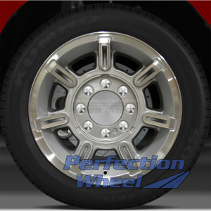2002-2007 Hummer H2 17x8.5 Factory Wheel (Bright Sparkle Silver)