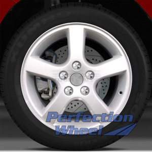 2005-2006 Pontiac Montana 17x6.5 Factory Wheel (Bright Sparkle Silver w/Lip)