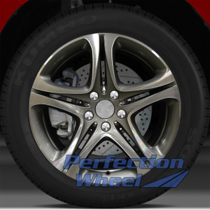 12-15 BMW Activehybrid 5 19x8.5 Wheel (Med Metallic Charcoal Machine Painted OD)