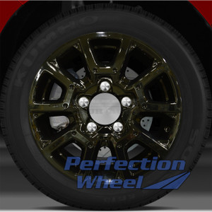 2014-2015 Toyota Tundra 18x8 Factory Wheel (Black Full Face)