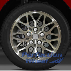 1993 1995 Jeep Grand Cherokee 15x7 Factory Wheel (Medium Charcoal)