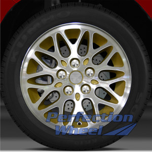 1993 1995 Jeep Grand Cherokee 15x7 Factory Wheel (Sparkle Gold)