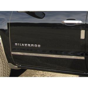 Luxury FX | Side Molding and Rocker Panels | 14-16 Chevrolet Silverado 1500 | LUXFX2208