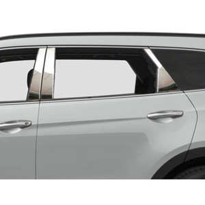Luxury FX | Pillar Post Covers and Trim | 13-16 Hyundai Santa Fe | LUXFX2294