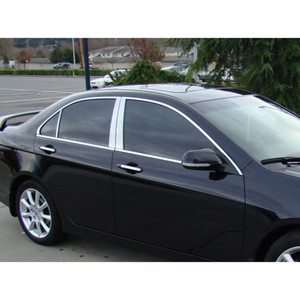 Acura TSX Replacement Parts Chrome Accessories - 2005 acura tsx accessories