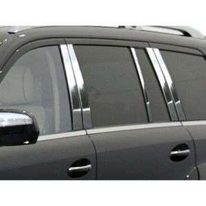Luxury FX | Pillar Post Covers and Trim | 07-12 Mercedes GL Class | LUXFX2433