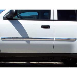 Luxury FX | Side Molding and Rocker Panels | 06-07 Chevrolet Trailblazer | LUXFX2759