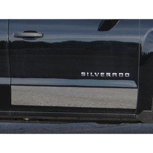 Luxury FX | Side Molding and Rocker Panels | 14-16 Chevrolet Silverado 1500 | LUXFX2768
