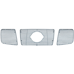 Brite Chrome | Grille Overlays and Inserts | 04-07 Nissan Armada | BCIG018