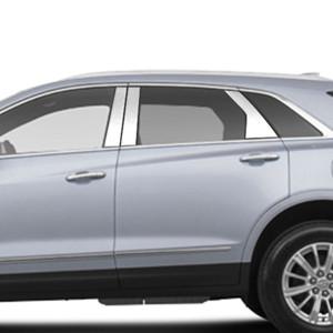 Brite Chrome | Pillar Post Covers and Trim | 17-18 Cadillac XT5 | BCIP131