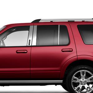 Brite Chrome | Pillar Post Covers and Trim | 02-10 Ford Explorer | BCIP150