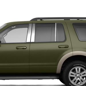 Brite Chrome | Pillar Post Covers and Trim | 02-10 Ford Explorer | BCIP151