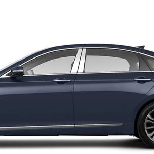 Brite Chrome | Pillar Post Covers and Trim | 15-16 Hyundai Genesis | BCIP163