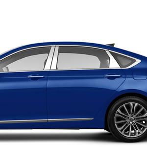 Brite Chrome | Pillar Post Covers and Trim | 15-16 Hyundai Genesis | BCIP164
