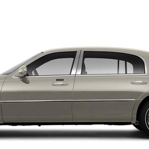 Brite Chrome | Pillar Post Covers and Trim | 98-11 Lincoln Town Car | BCIP180