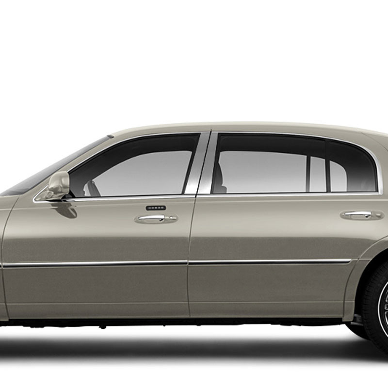 2011 Lincoln Town Car: Pillar Post Covers And Trim