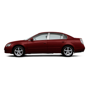 Brite Chrome | Pillar Post Covers and Trim | 02-06 Nissan Altima | BCIP187