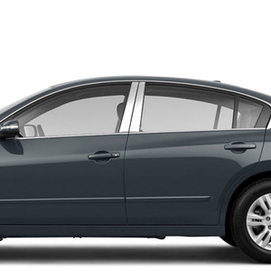 Brite Chrome | Pillar Post Covers and Trim | 07-12 Nissan Altima | BCIP188