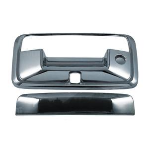 Brite Chrome | Tailgate Handle Covers and Trim | 14-16 Chevrolet Silverado 1500 | BCIT009