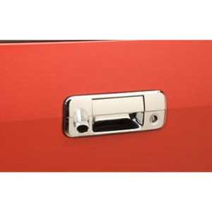 Brite Chrome   Tailgate Handle Covers and Trim   07-10 Toyota Tundra   BCIT058
