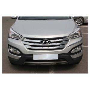 Premium FX | Grille Overlays and Inserts | 13 Hyundai Santa Fe | PFXG0572