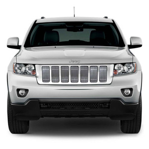 Premium FX | Grille Overlays and Inserts | 11-13 Jeep Grand Cherokee | PFXG0628
