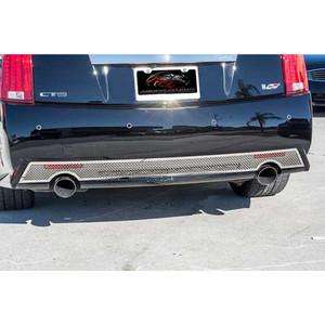 American Car Craft | Rear Accent Trim | 06_15 Cadillac CTS | ACC1542